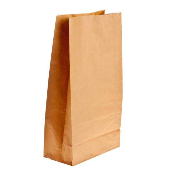 250 SHOPPERS Small 260x130x370 thriftypak 65gsm brown