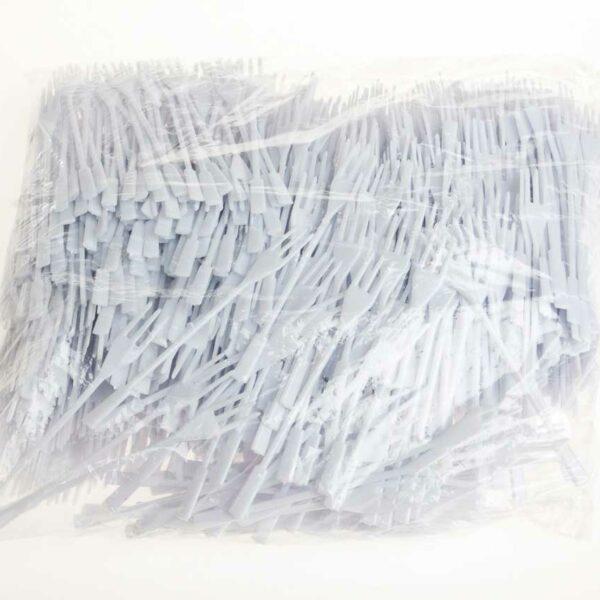 1000 PLASTIC CHIP FORKS 110mm WHITE