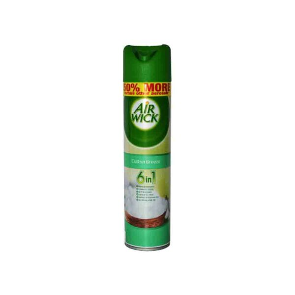 AIRWICK AIR FRESHENER COTTON BREEZE 280ml