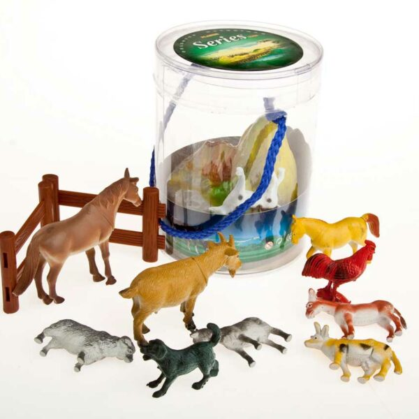 ANIMALS/FARM/DINOSAURS SET