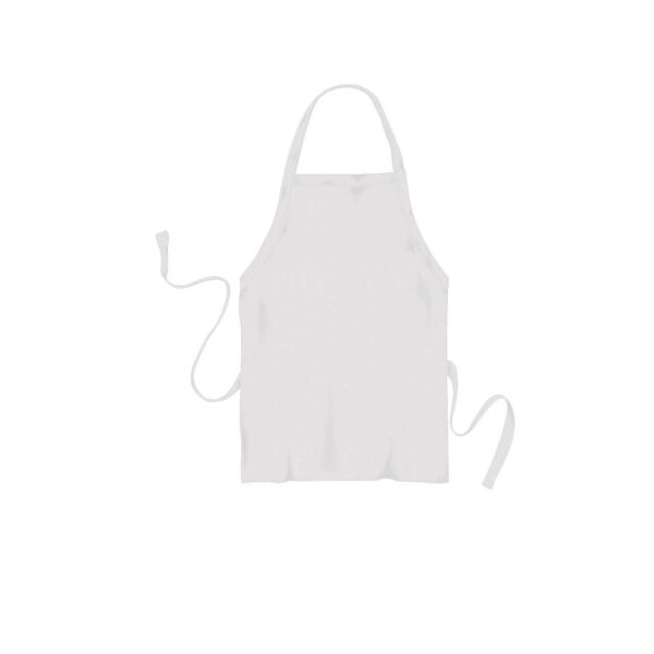 CATERING APRON WHITE MATERIAL