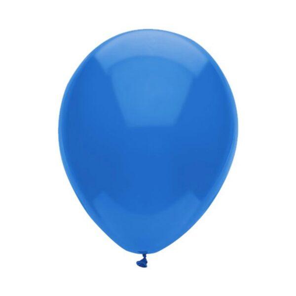 (10) METALLIC BLUE 35cm BALLOONS (HELIUM/AIR)