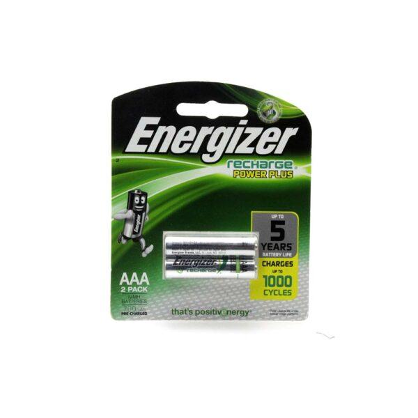 PACK (2) ENERGIZER AAA2 RECHARGE POWER 700mAh BATTERIES