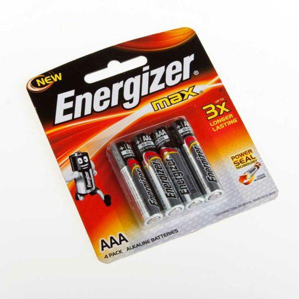 ENERGIZER  AAA BATTERIES (4)