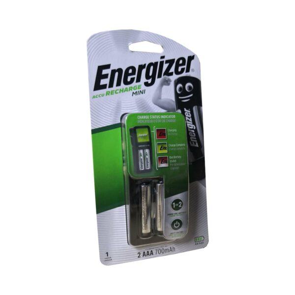 ENERGIZER AA+AAA CHARGER + 2AAA BATTERIES