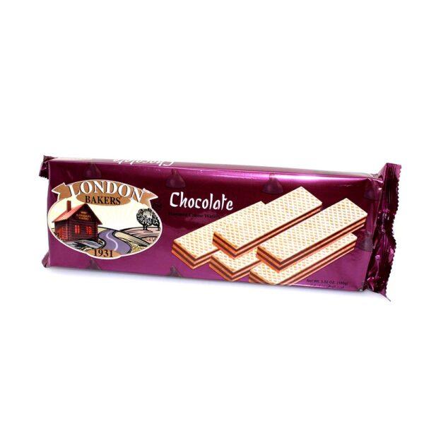 100g LONDON BAKERY wafers chocolate/hazelnut