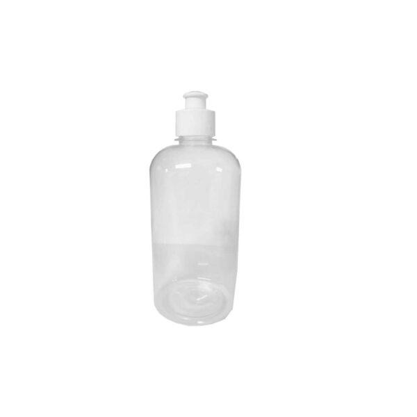 BALE (100) PLASTIC BOTTLE & CAP PET BOSTON CHUBBY 500ml