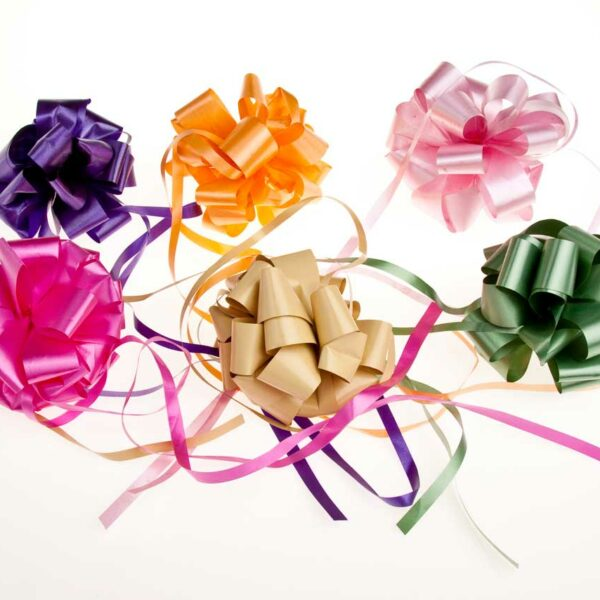 BIG READY MADE COLOURED CANDY BOW