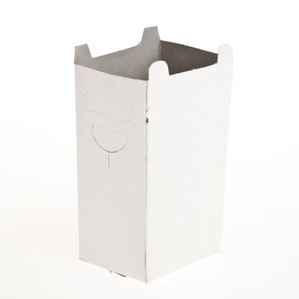 (100) CHIP BOXES MEDIUM With Scop Flap