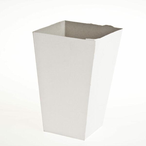 (100) POPCORN BOX plain(21cmHi x9)