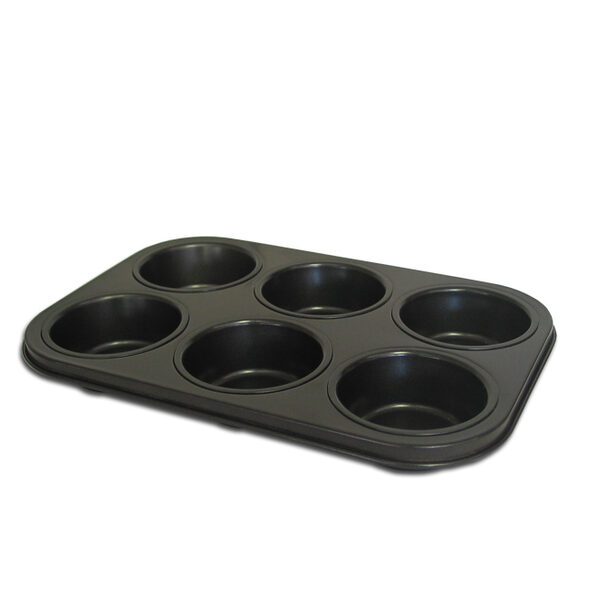 BAKEWARE COOKIE PAN 6 CUP 260X180X28MM