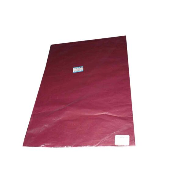 25 SHEETS TISSUE PAPER BURGUNDY 50×66