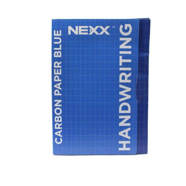 (100) NEXX CARBON PAPER BLUE 210mmx297mm