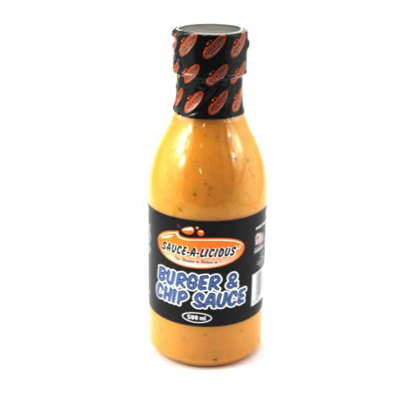 BURGER & CHIP SAUCE SAUCE-A-LICIOUS 500ML
