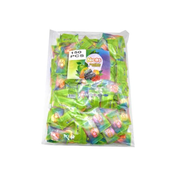 120pc +/-  NICOS CHEWY CANDY ASSORTED