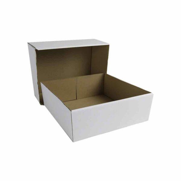 (10) CORRUGATED CAKE BOXES 14″ base+lid