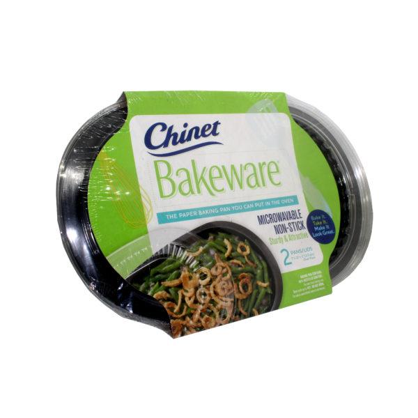 PACK(2) Bakeware Pan & Lid – Oval Pan (1.9L) 17x 26cm-CHINET