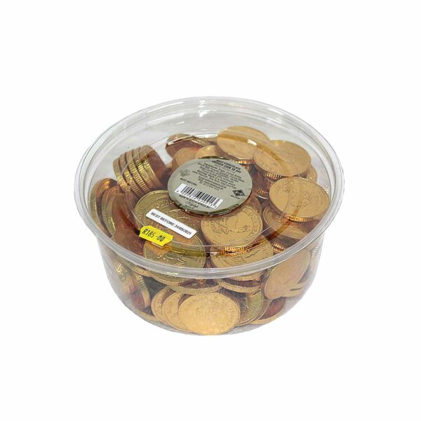 (120+/-) MILK CHOCOLATE KRUGER COIN 38mm