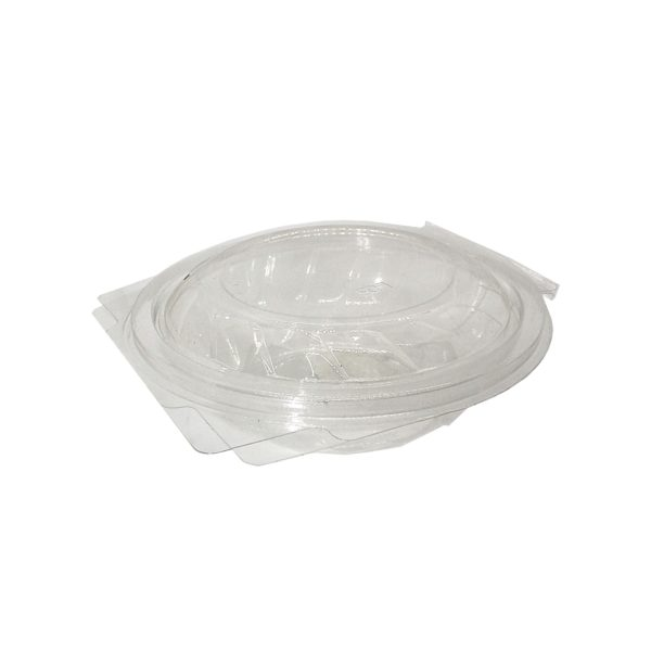 50 CLEAR TUBS CLAM LID 350ml