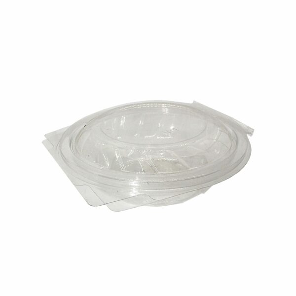 (50) CLEAR TUBS CLAM LID 350ml
