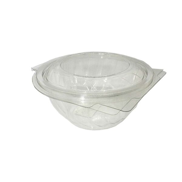 50 CLEAR TUBS CLAM LID 500ml