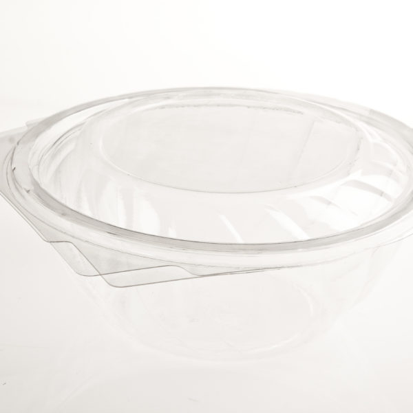 25 CLEAR TUBS 800ml CLAM LID