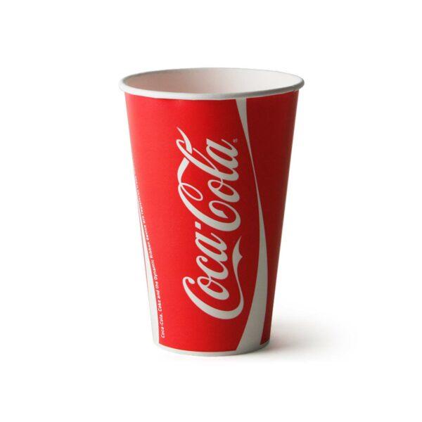 BOX (20×50 = 1000) COCA-COLA PAPER CUP 650ml