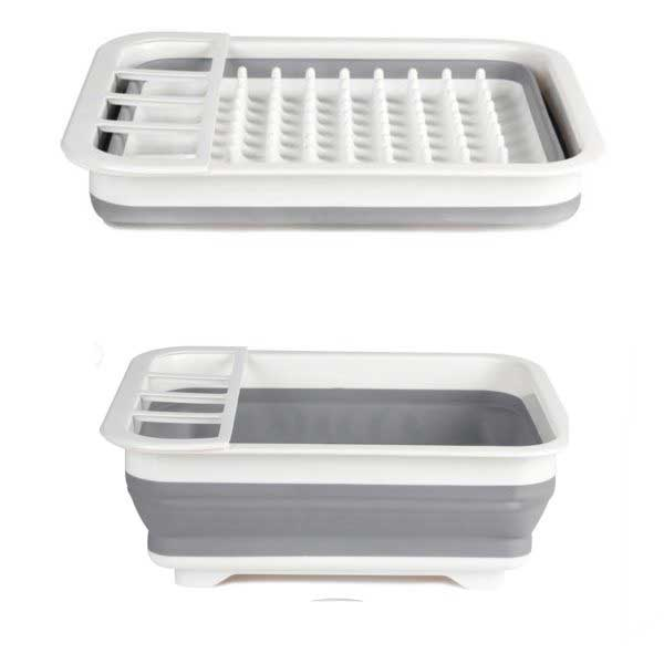 COLLAPSIBLE DISH RACK 37x27x5cm