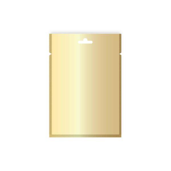 CASE (50×100) GOLD/CLEAR BAGS 100x150Eu
