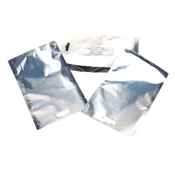 CASE(30×100) FOIL/CLEAR BAGS 125×200