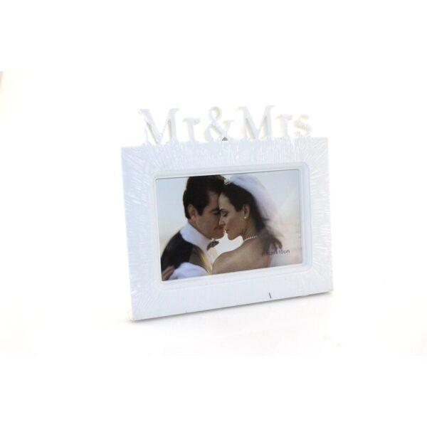 FRAME MR & MRS WHITE 15 x 10cm