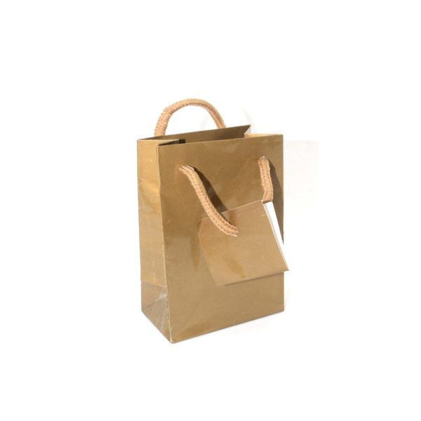PK(20) GIFT BAG 8+3×12 GOLD