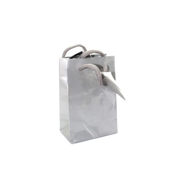 PK(20) GIFT BAG 8+3×12 SILVER