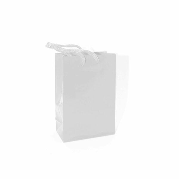BAGS PLAIN 8x12cm WHITE