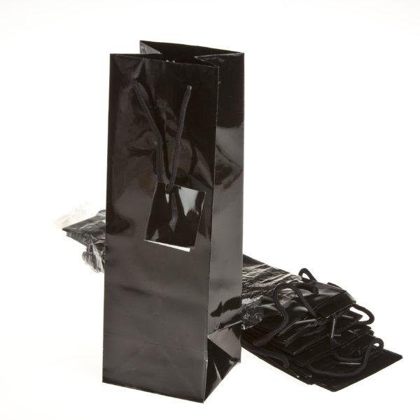 xBOTTLE BAG BLACK 100+90x330mm