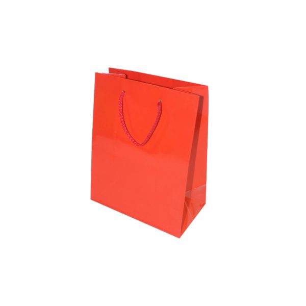 GIFT BAG 17+8×22 RED