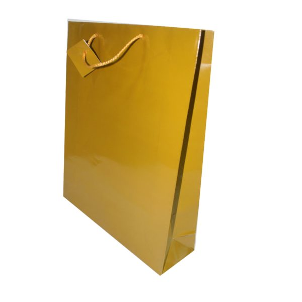 PK(20) GIFT BAG GOLD 31X38cm