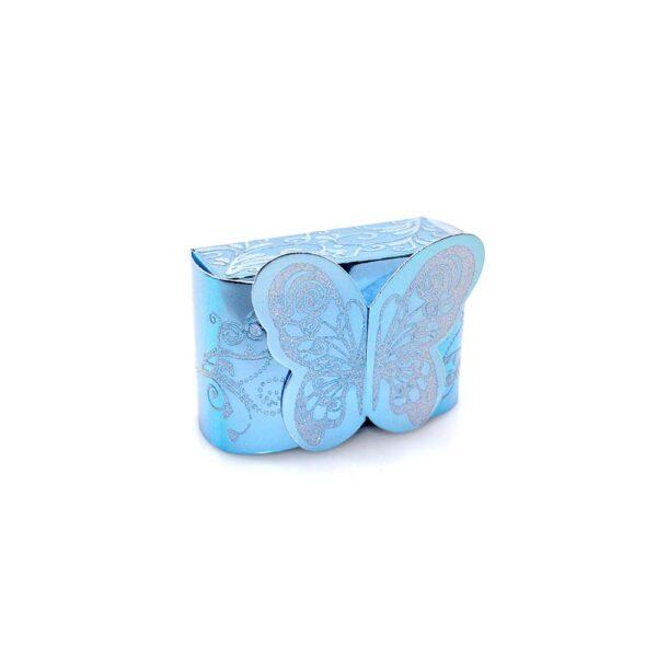 PACK (12) SWEET BOX BLUE 8x3x5cm (SJ-006G)