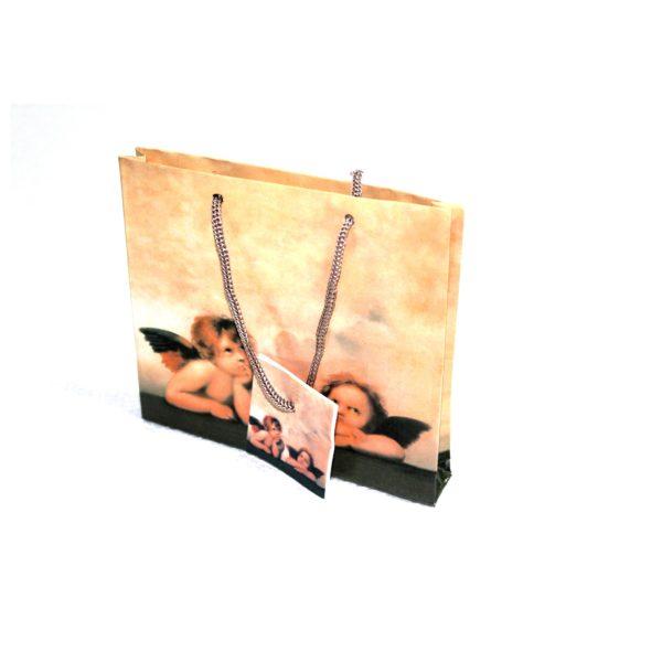 GIFT BAG ANGELS 155W x 135H
