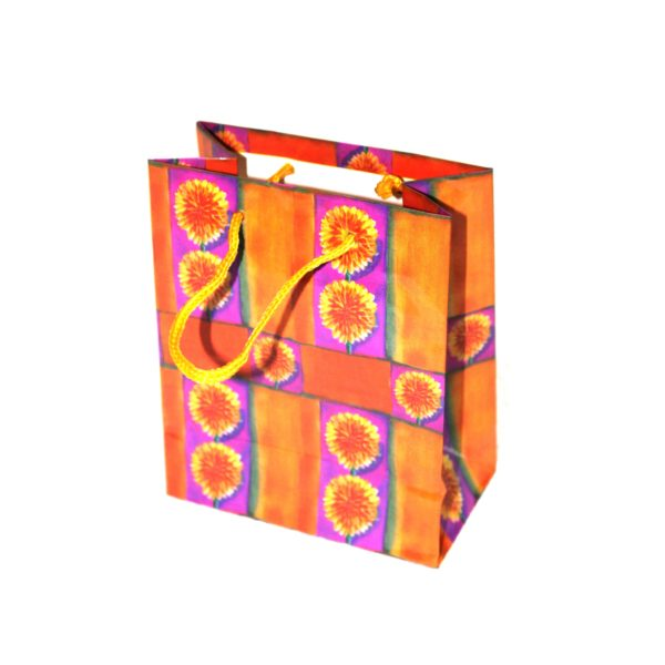 GIFT BAG FLOWERS SMALL 110W x135H