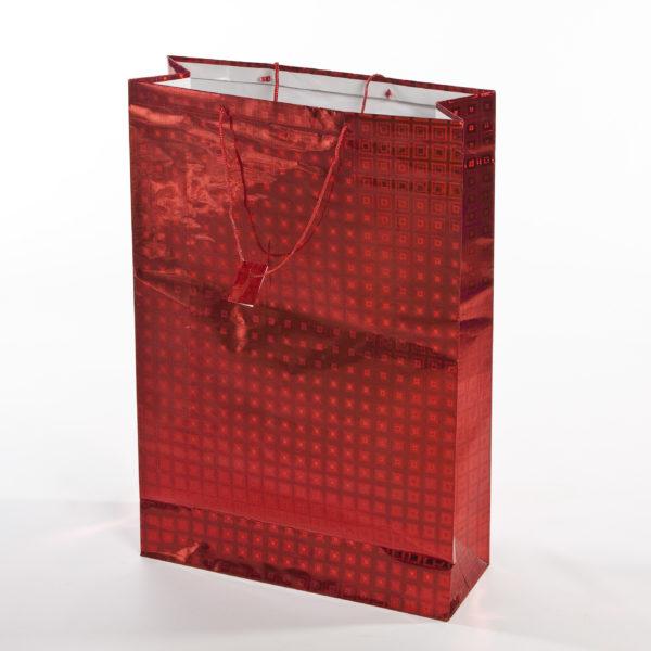 xGIFT BAG JUMBO ASSORTED COLOURS 49w x 61h