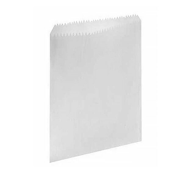 (100) GREASE PROOF BAGS SIZE 2  ( 165×190 )