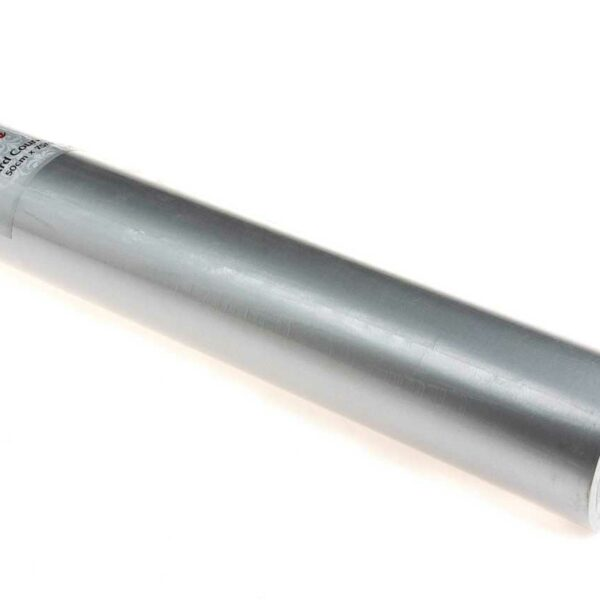 GIFT WRAP ROLL SILVER 490mm x 75m 52gsm (TBD)