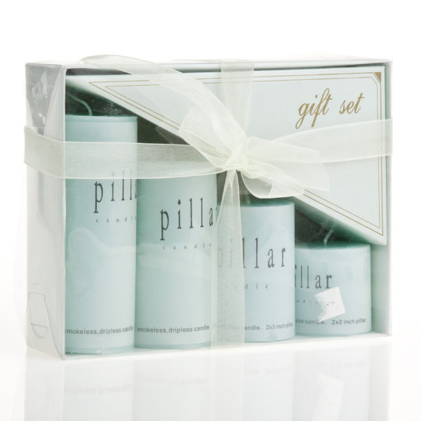 4PC CANDLE GIFT SET
