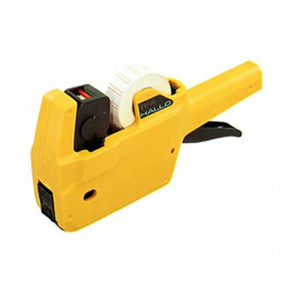 HALLO ONE TOUCH LABELER 1y YELLOW