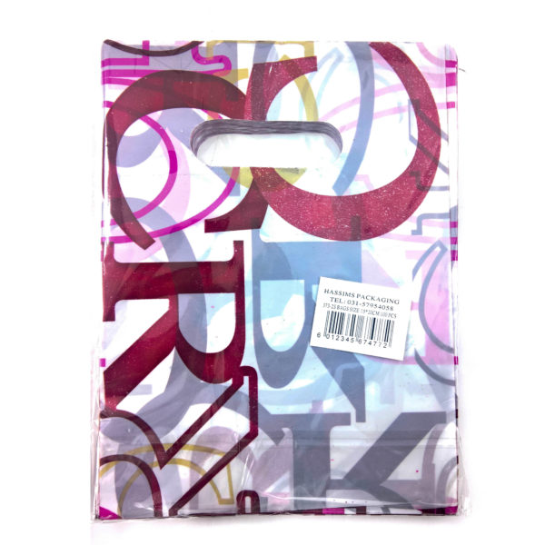 PACK(100) BOUTIQUE HD PRINTED 15×20 **ALPHA **