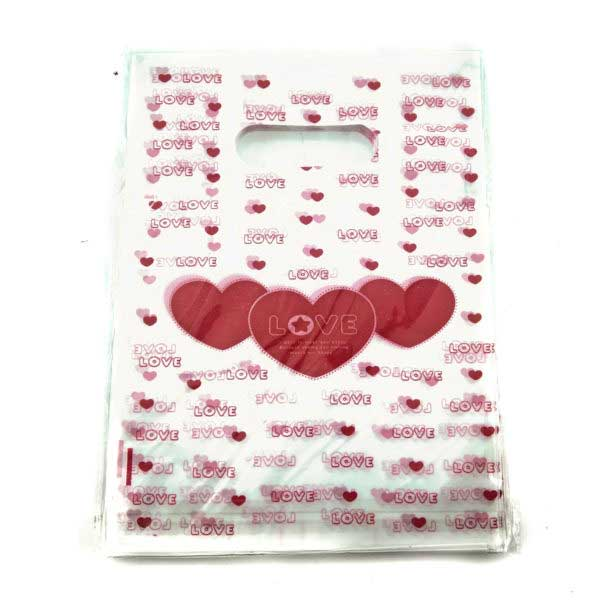 PACK(100) BOUTIQUE HD PRINTED 15×20 ** LOVE **