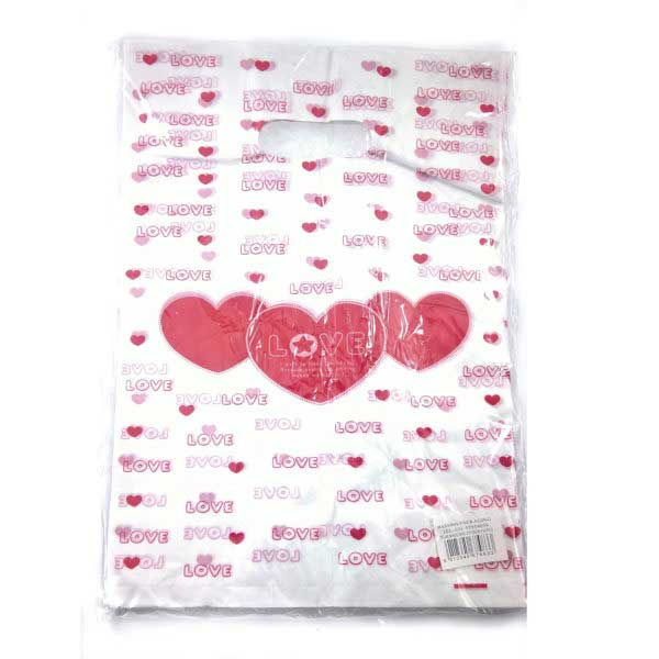 PACK(100) BOUTIQUE HD PRINTED 25X35 ** LOVE **