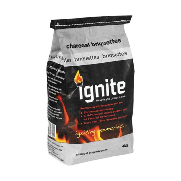Ignite Charcoal Briquettes 4kg