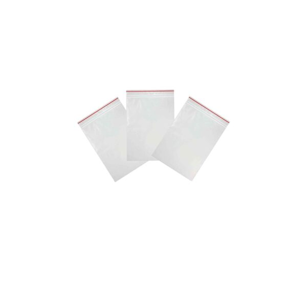 (10×100)40x40x40mic GRIP BAGS REDline